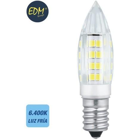 Bombilla Led Mini Vela E14 3W 28 Lumens 6.400K Luz Fria - NEOFERR