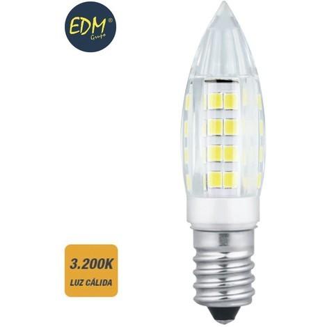Bombilla Led Mini Vela E14 3W 280 Lumens 3.200K Luz Calida - NEOFERR