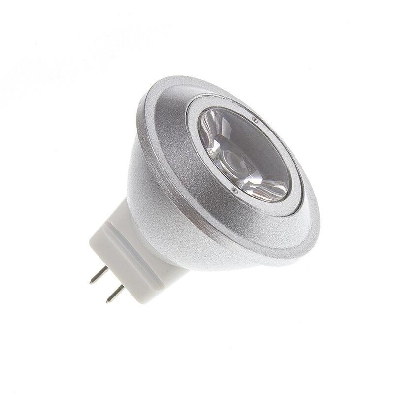 Bombilla LED MR11 12V 1W Blanco Cálido 2800K - 3200K - Blanco Cálido 2800K - 3200K