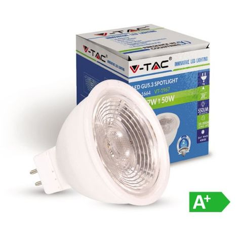 Bombilla led MR16 Premium 7W 38° Plus 12V