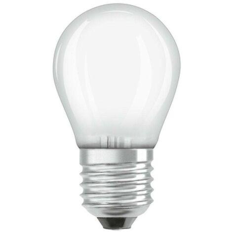 Bombilla LED Osram Filamento Glaseado E27 G45 4.5W 2700K