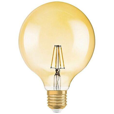 Bombilla LED OSRAM Globo Vintage 1906 G125 E27 7,5W regulable