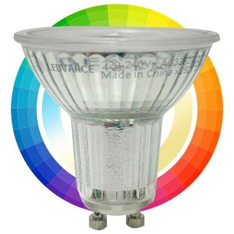 Bombilla LED PAR16 GU10 SMART + WiFi RGBW 5W LEDVANCE