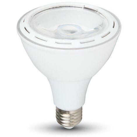 Bombilla LED PAR30 E27 de 12W 6000K Luz Fría Altas prestaciones