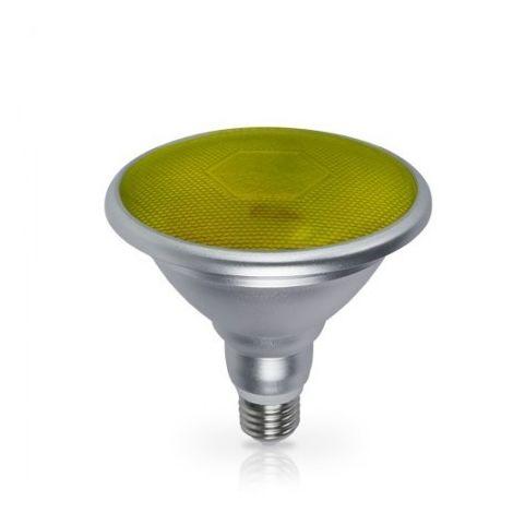 Bombilla LED PAR38 18W E27 700lm Amarillo IP65 GSC 2003590