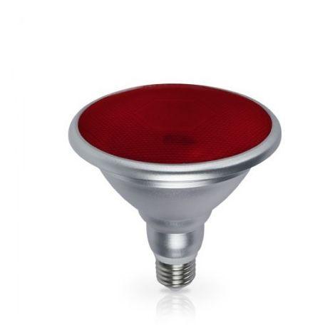 Bombilla LED PAR38 18W E27 700lm Rojo IP65 GSC 2003589