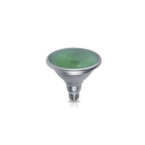 Bombilla LED PAR38 18W E27 700lm Verde IP65 GSC 2003534