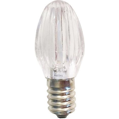 Bombilla LED para bolas de navidad 0,28 W E14 12V blanco fresco T12VL1BN