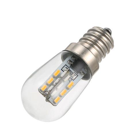 Bombilla LED para refrigerador, E12, AC110V / 220V, blanco calido,AC220V