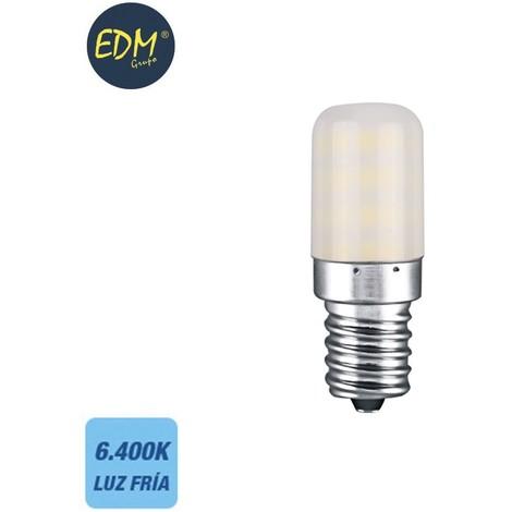 Bombilla Led Pebetero E14 3W 300 Lumens 6.400K Luz Fria Edm