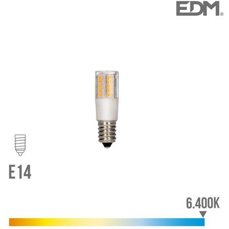 "main image of ""BOMBILLA LED PEBETERO E14 5.5W 6400K 230V 650 LUMENS CON BASE CERAMICA EDM"""