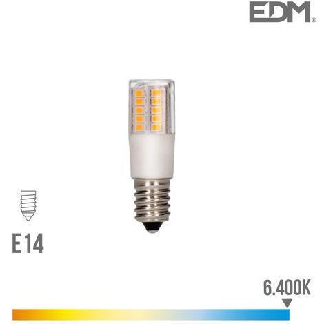 BOMBILLA LED PEBETERO E14 5.5W 6400K 230V 650 LUMENS CON BASE CERAMICA EDM - NEOFERR