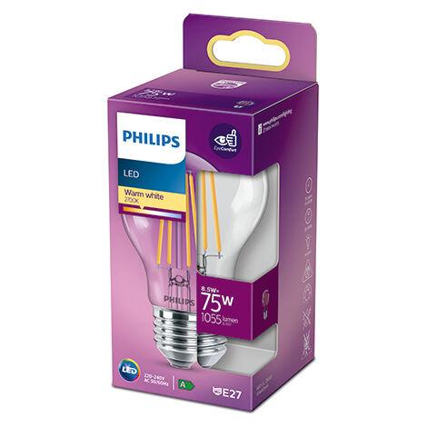 Bombilla LED Philips E27 A60 8.5W 1055Lm 2700K [PH-929002025455] (PH-929002025455)
