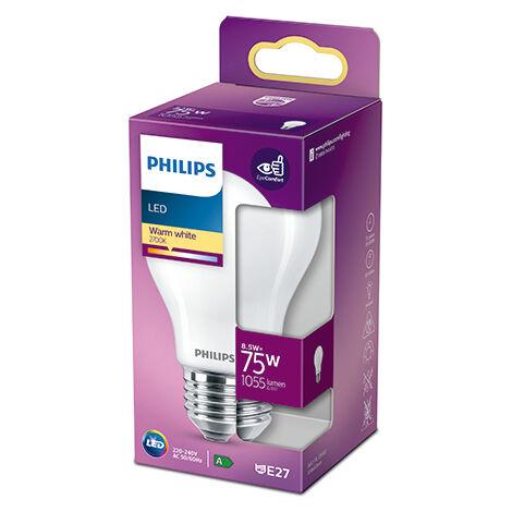 Bombilla LED Philips E27 A60 8.5W 1055Lm 2700K [PH-929002025755] (PH-929002025755)