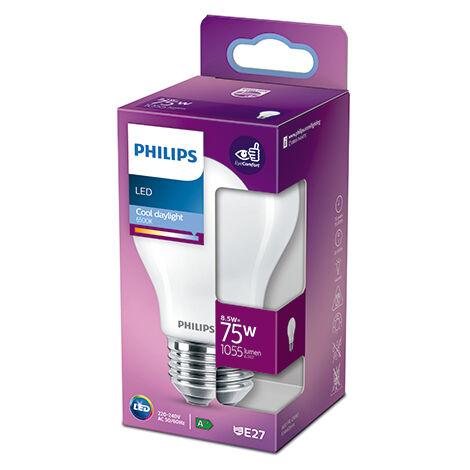 Bombilla LED Philips E27 A60 8.5W 1055Lm 6500K [PH-929002025955] (PH-929002025955)