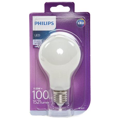 Bombilla LED Philips E27 A67 11,5W 1521Lm Blanco Natural   Blanco Natural (PH-8718696739228-W)