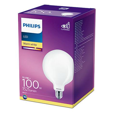 Bombilla LED Philips E27 G120 10.5W 1521Lm 2700K [PH-929002067801] (PH-929002067801)