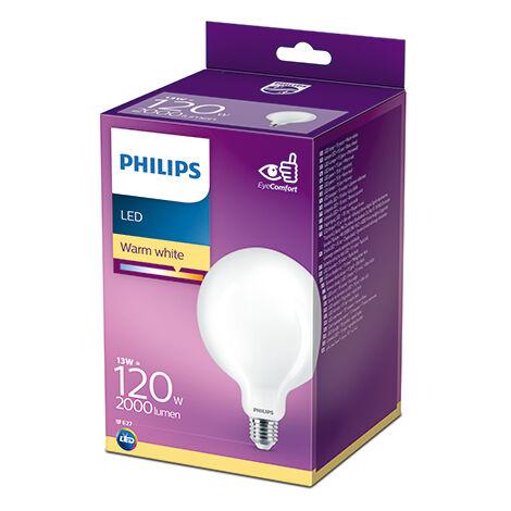 Bombilla LED Philips E27 G120 13W 2000Lm 2700K [PH-929002372101] (PH-929002372101)