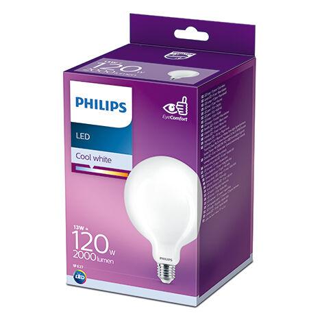 Bombilla LED Philips E27 G120 13W 2000Lm 4000K [PH-929002372201] (PH-929002372201)