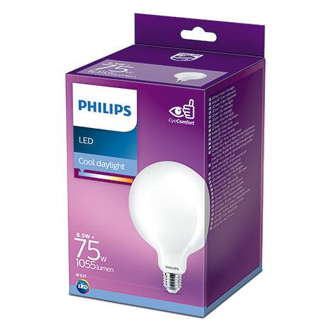 Bombilla LED Philips E27 G120 8.5W 1055Lm 6500K [PH-929002371301] (PH-929002371301)