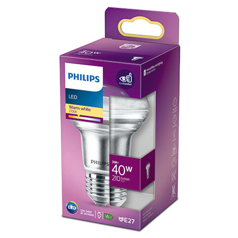 Bombilla LED Philips E27 R63 3W 255Lm 2700K [PH-929001891355] (PH-929001891355)