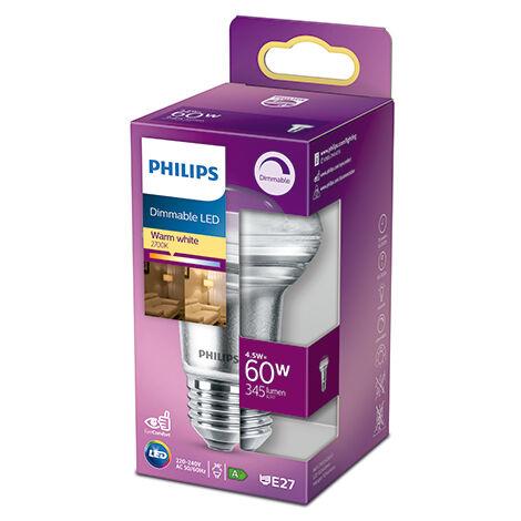 Bombilla LED Philips E27 R63 Dimable 4.5W 410Lm 2700K [PH-929001891455] (PH-929001891455)