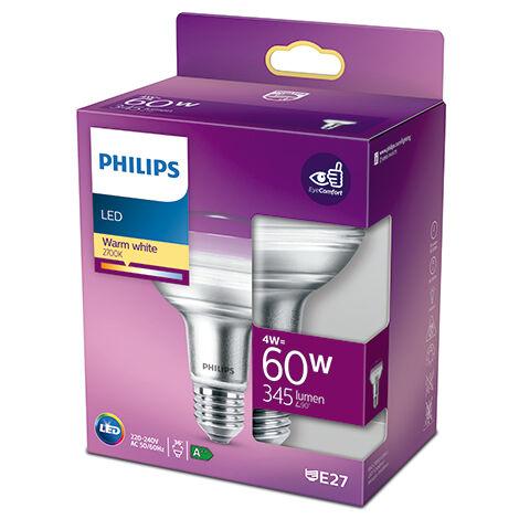 Bombilla LED Philips E27 R80 4W 410Lm 2700K [PH-929001891503] (PH-929001891503)