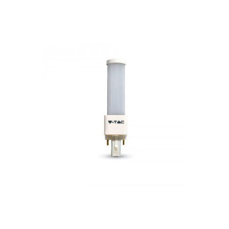 Bombilla LED PL Aluminio E27 6W 120°