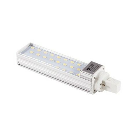 Bombilla LED PLC G24d 10W Rotacional 180º 5000K