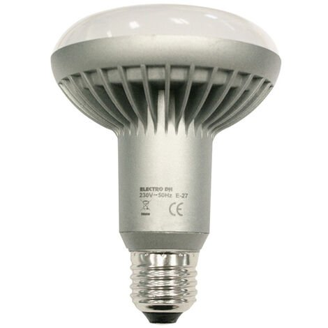 Bombilla LED R63. Reflectora 7W.Luz Cálida Electro Dh 81.126/R63/CAL 8430552145997