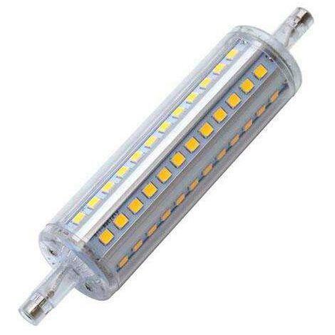 Bombilla LED R7S, 10W, 72xSMD2835, 360º, 118mm