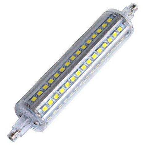 Bombilla LED R7S, 12W, 90xSMD2835, 360º, 138mm
