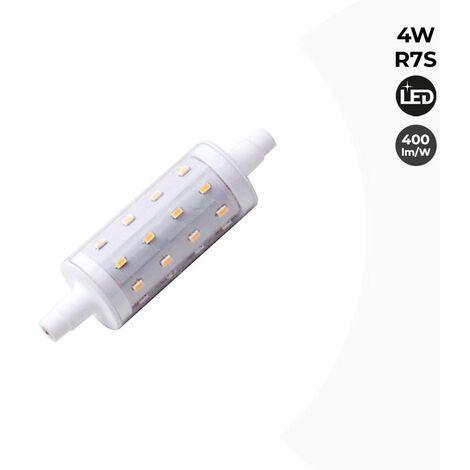 Bombilla LED R7S Fumagalli 78mm 4W 400Lm 230V | Blanco Neutro