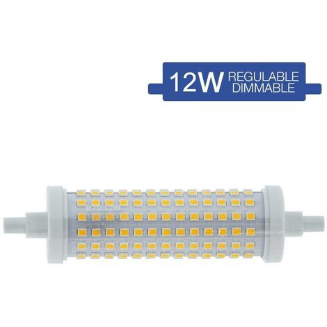 Bombilla LED R7S regulable 118mm 15W 230V 1700lm