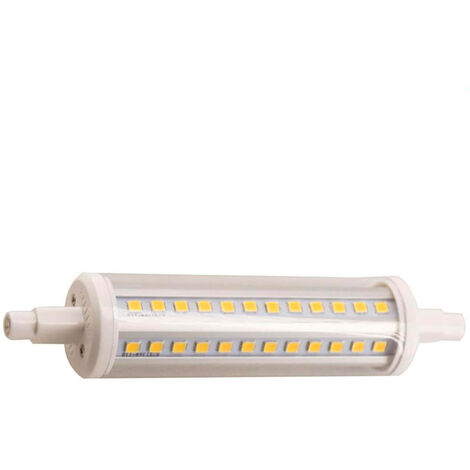 Bombilla LED Tubo R7S 10W Equi.80W 1200lm Regulable 4000K 25000H 7hSevenOn
