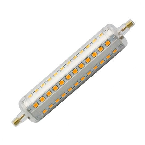 Bombilla LED R7S Slim Regulable 118mm 10W Blanco Neutro 4000K