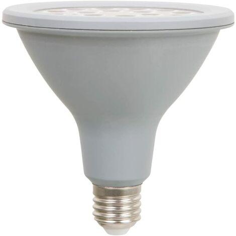 Bombilla LED reflectora 16W color verde, casquillo E27.Uso para jardín. Con IP 65 (resistente agua y polvo)