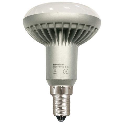 Bombilla LED reflectora R50, E-14, 230 VAC. 81.124/R50/CAL Electro Dh 8430552146987