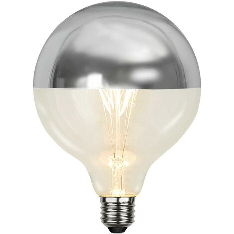 Bombilla LED regulable 4W medio alu E27