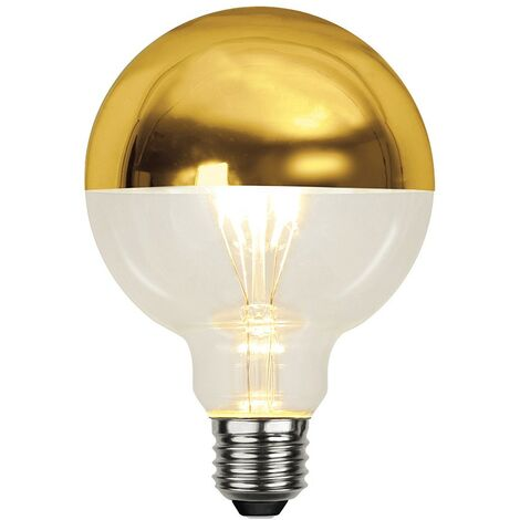 Bombilla LED regulable 4W medio ORO E27