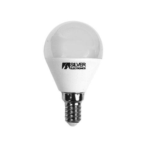Bombilla LED Regulable ESFERICA E14 5W Luz Blanca 5000K