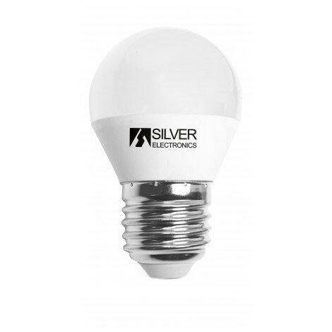 Bombilla LED Regulable ESFERICA E27 5W Luz Blanca 5000K