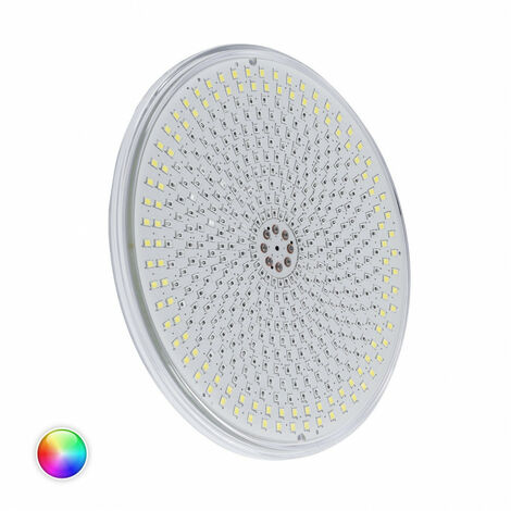 Bombilla LED RGBW PAR56 Slim Piscina Sumergible IP68 12V DC 35W RGBW con mando - RGBW con mando