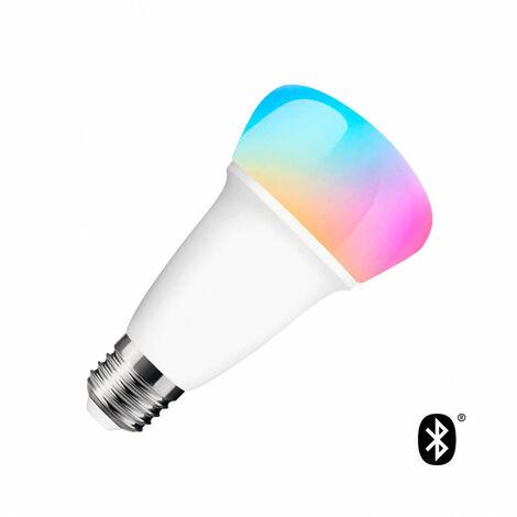 Bombilla LED RGBW Smart Bluetooth E27 Casquillo Gordo Regulable 9W RGBW - RGBW
