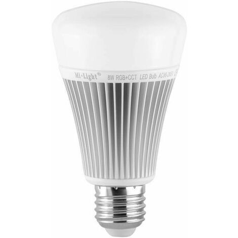 Bombilla LED RGBWW E27 8W por Radio Frecuencia | RGB