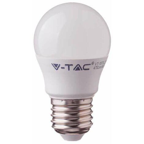 Bombilla LED Samsung G45 E27 4.5W 180° V-TAC PRO Temperatura de color - 6400K Blanco frío