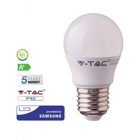 Bombilla LED Samsung G45 E27 7W V-TAC PRO
