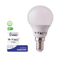 Bombilla LED Samsung P45 E14 7W 180° V-TAC PRO