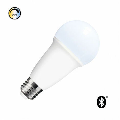 Bombilla LED Smart Bluetooth E27 Casquillo Gordo Tono de Color Seleccionable 10W Seleccionable (Cálido-Neutro-Frío)