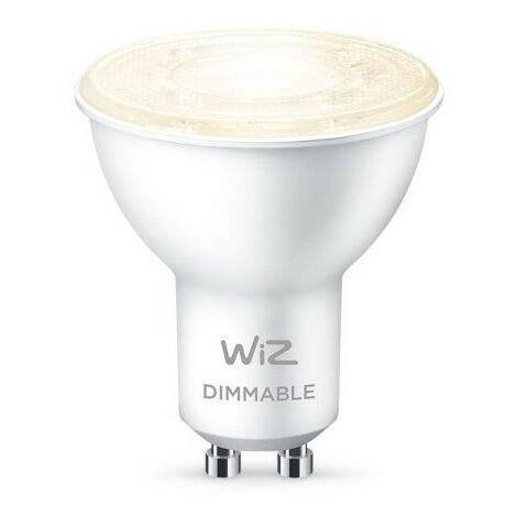 Bombilla LED Smart WiFi + Bluetooth GU10 PAR16 Regulable WIZ 4.9W Blanco Cálido 2700K - Blanco Cálido 2700K